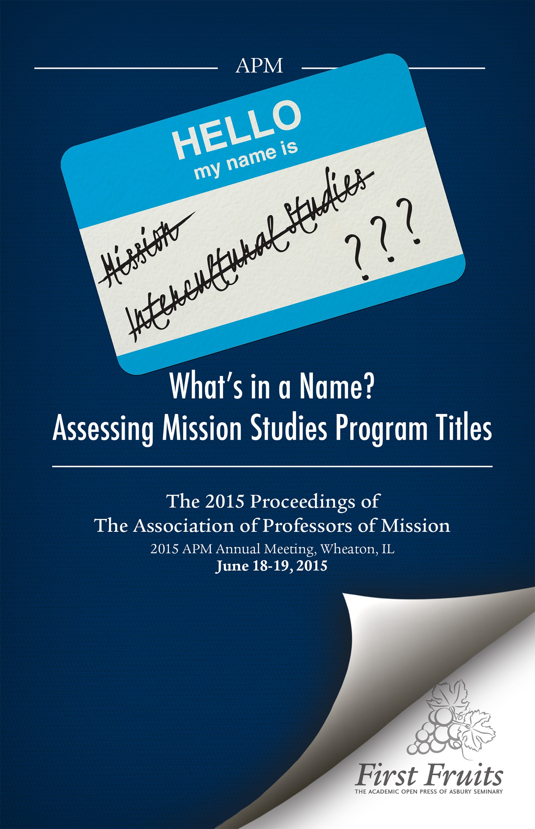 What's in a Name? Assessing Mission Studies Program Title